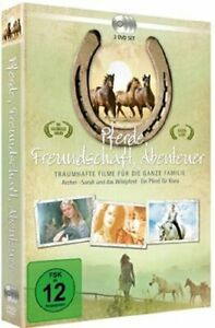 Archer / Sarah and the Wild Horse / A Horse for Klara [3 DVD/NEW/OVP]