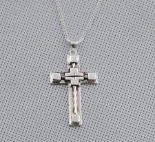 Jewelry Fashion 925 silver  cross Pendant  gift for women N-389