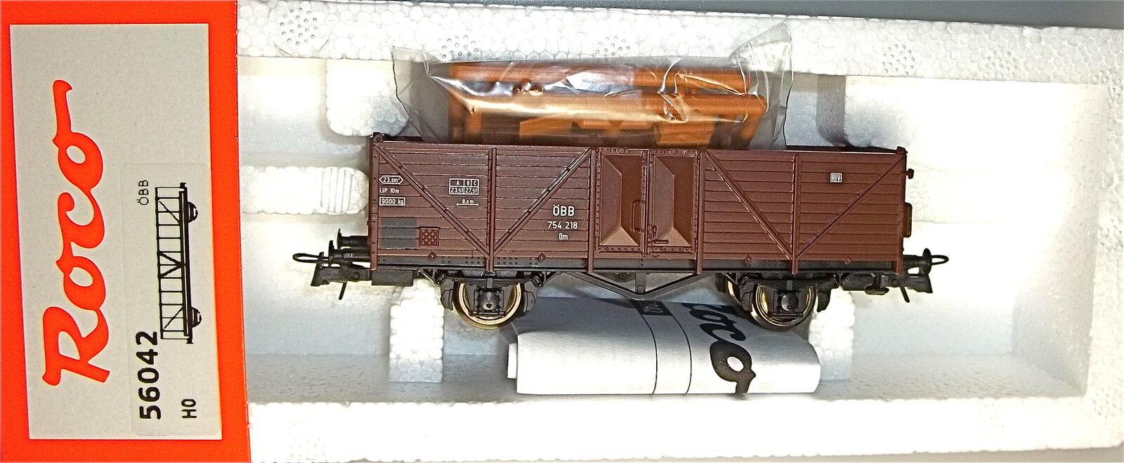 0m ÖBB 754 218 wagons avec charge ROCO 56042 H0 1 87 NEUF et emballé  HC2