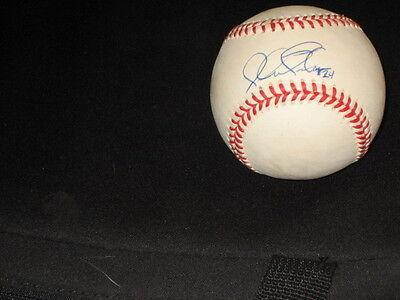 Autographs-original Michael Tucker Braves Legend Authentic Hand Signed Autographed Onl Baseball Nice Superior Materials