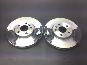 13.5MM BOLT HOLE FORD MONDEO MK4 2007-2015 FRONT /& REAR BRAKE DISCS AND PADS