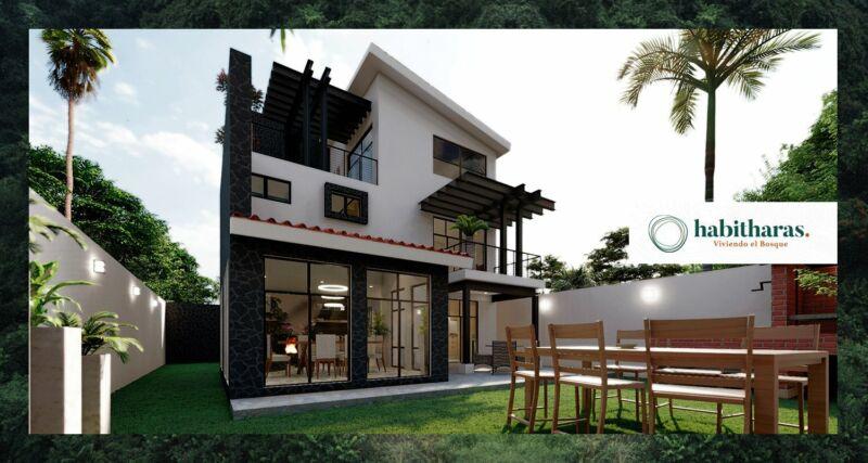 Casa en Venta en Habitharas  en Puebla, 3 Recámaras