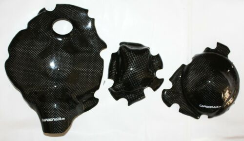 Yamaha r1 09-14 rn22 3x carbon embrague tapa lima tapa set carbono Carbone