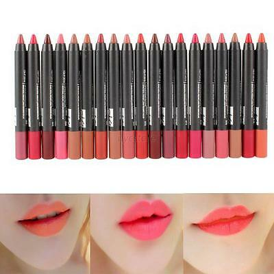 New Long Lasting Waterproof Lip Gloss Lip Pencil Lipstick Lip Pen Beauty Makeup