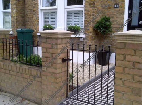 "# MANOR WROUGHT IRON METAL GATE 36/"" OP X 3ft6 TALL GARDEN GATES MADE TO MEASURE"