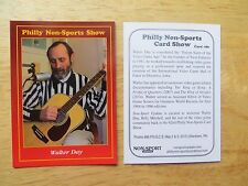 2015 PHILLY NON-SPORTS CARD SHOW PROMO # 86 WALTER DAY,VIDEO GAMER TWIN GALAXIES