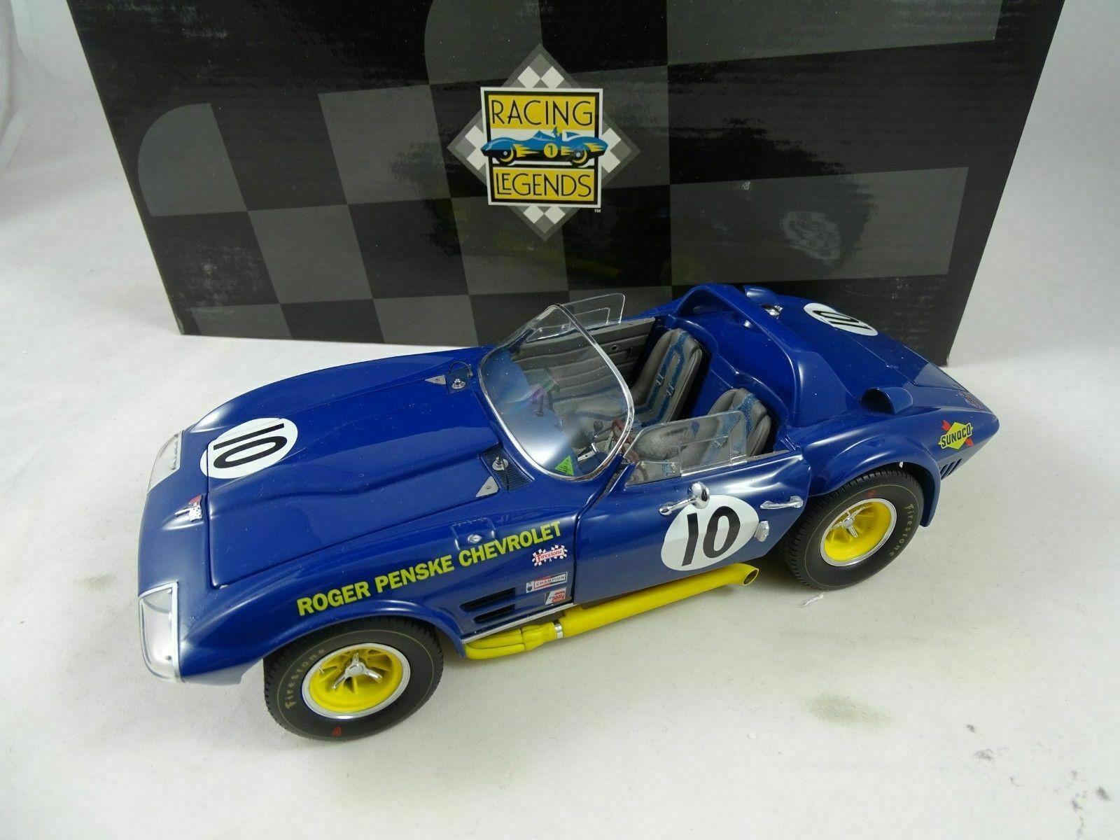 1 18 Exoto EXOTO Chevrolet Corvette Penske Grand sport Rarität