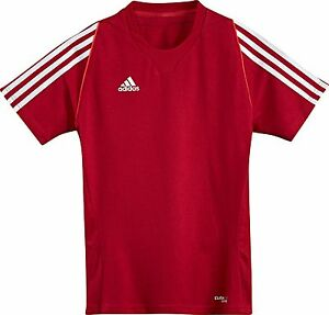 Abverkauf-adidas-Kinder-Sport-Shirt-schwarz-Gr-116-176-Trainingsshirt
