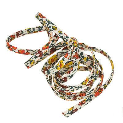 Liberty of London Helena/'s Meadow A 4mm Cotton Ribbon Cord 1m K44//1