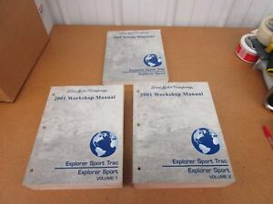 ford explorer sport trac service shop dealer manual