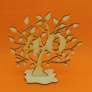 Jubilaeums-Baum-40-Geburtstag-aus-Holz-16-cm-Lebensbaum-Geschenk-Hochzeit
