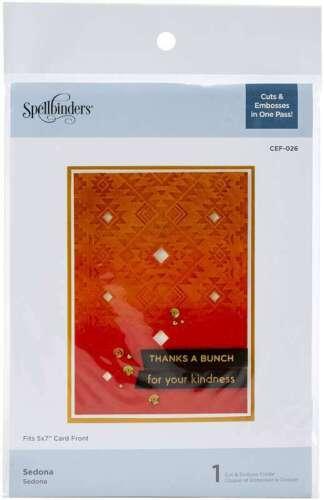 Spellbinders Cutting Embossing Folders Sedona 813233045836