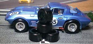 """XPG"" URETHANE SLOT CAR TIRES 2pr XPG-21124 fit MONOGRAM Corvette Grand Sport"