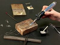 Butane Soldering Torch, Ignition Hot Air Versa Tip Welding Wood Burning Portable on sale