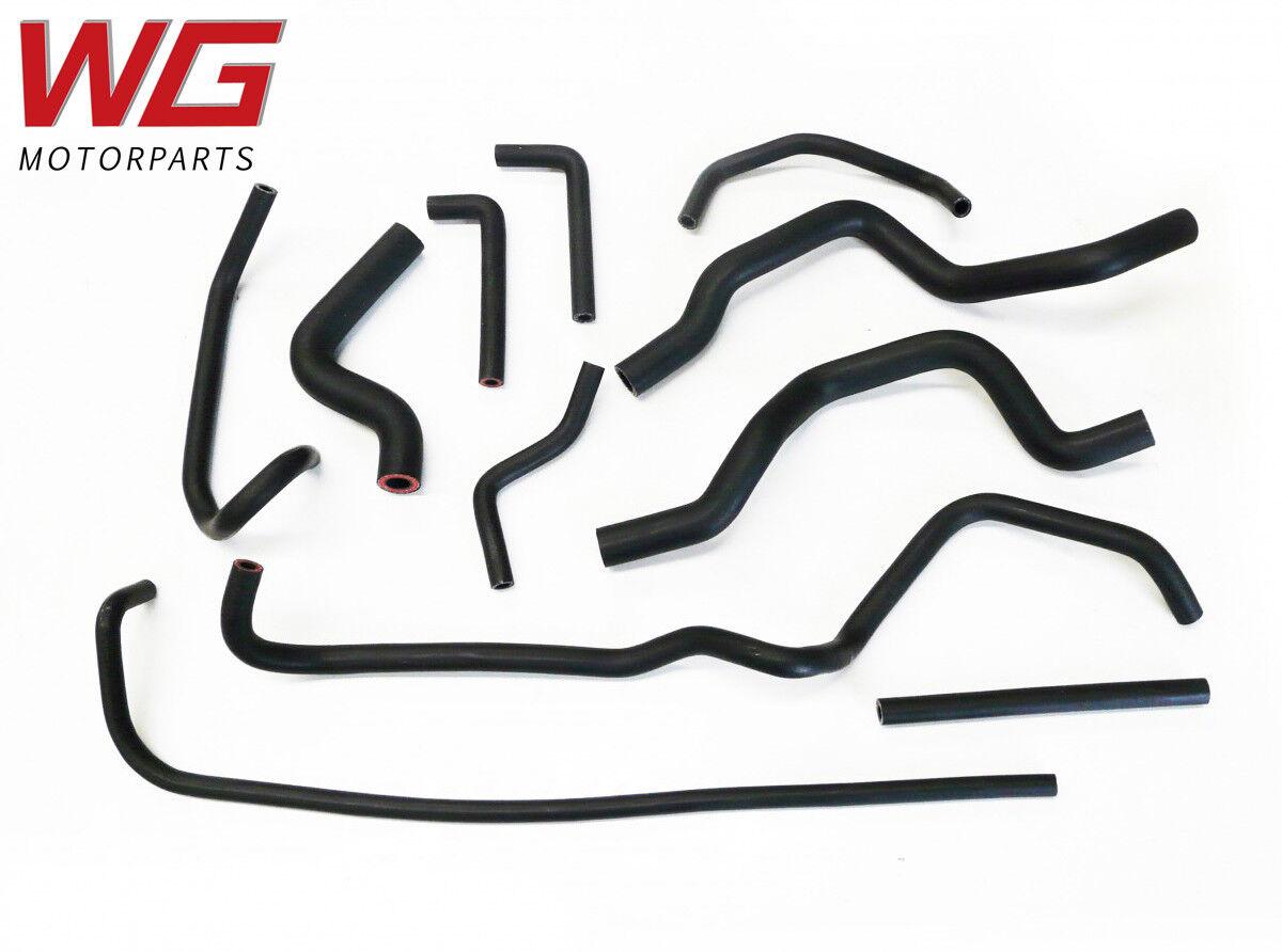 Roose Motorsport Zusatz Schlauch-Set für Mitsubishi EVO 9 2.0 Turbo Modelle