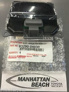 Toyota Tacoma TRUCK Overhead Meter Temp and Compass Display 2008 new oem