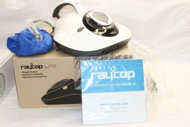 RAYCOP LITE Handheld UV HEPA Allergen Sanitizing Vacuum-White