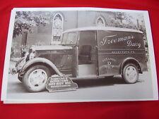 1935 DODGE TRUCK FREEMANS DAIRY ALLENTOWN PA 11 X 17  PHOTO   PICTURE
