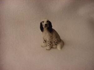 AUSTRALIAN CATTLE DOG Blue Heeler puppy TiNY FIGURINEresin MINIATURE Mini Small