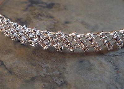 Kleidung & Accessoires Braut-accessoires Tiara Diadem Haarreif Brautschmuck Haarschmuck Krone Strass Hochzeit 1813