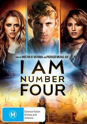 I AM NUMBER FOUR : NEW DVD