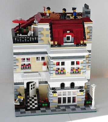 s/' adapte à 10197 10211 10224 Modulaire Bakery//Fishmonger de recette pour LEGO
