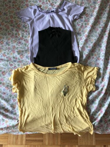 Lot of 3 Brandy Melville Women's Tops - One Size