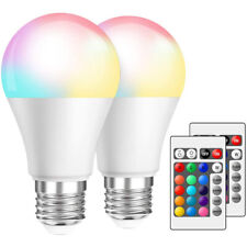 12X Dimmable RGB LED Spot Light 16 Color Changing Bulbs GU10 4W RC Remote Lamps
