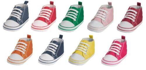 Canvas-Turnschuh für Babies von Playshoes rutschhemmende Noppensohle