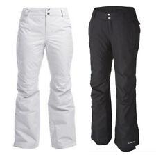NEW Columbia Women's Arctic Trip Omni-Tech Ski Snow Pants WHITE BLACK All Sizes