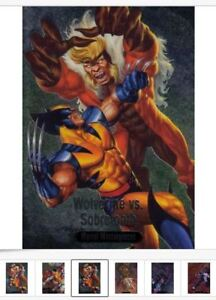 2016-Marvel-Masterpieces-BATTLE-Spectra-BS1-BS17-Card-Singles-PICK-Choose