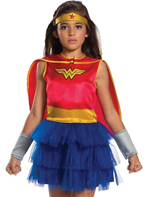 WONDER WOMAN TUTU set superhero tutu wonder woman costume wonder women crown and cuffs wonder woman girl tutu dress girl superhero
