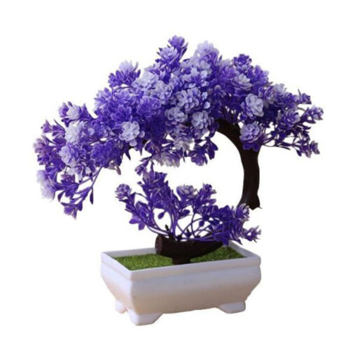Mini Fake Potted Bonsai Tree Artificial Plant Desk Ornament Home Decor
