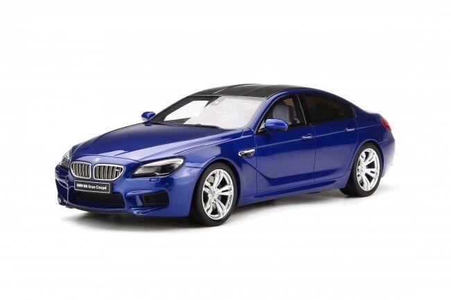 BMW m6 Grand coupé bleu métallisé 1 of 999 1 18 resin GT-SPIRIT gt184 NOUVEAU & NEUF dans sa boîte