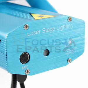 Laser Projector Stage Lights Mini LED R&G Lightning Xmas Party DJ Disco Dance