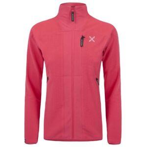 new products 53540 99b40 Dettagli su MONTURA Stretch Jacket W Rosso 18WMMJAP01W/ Abbigliamento da  montagna per donna