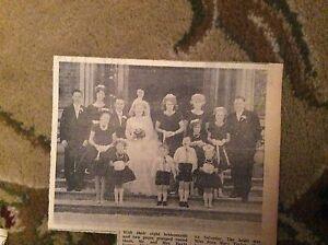 B23 ephemera 1963  picture mr mrs david walters ramsgate joan taylor wedding - Leicester, United Kingdom - B23 ephemera 1963  picture mr mrs david walters ramsgate joan taylor wedding - Leicester, United Kingdom