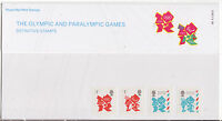 GREAT BRITAIN 2012 OLYMPIC PARALYMPIC GAMES PRESENTATION PACK