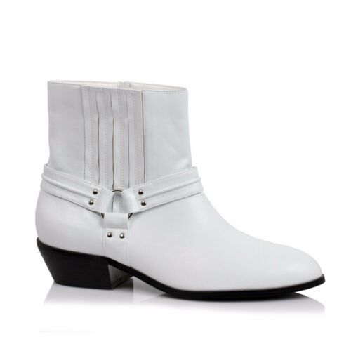 New White Star Wars StormTrooper 501st Halloween Costume Ankle Boots Shoes Mens