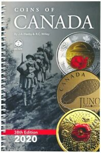 New 2020 Coins Of Canada Catalog Coins Tokens Paper Money Spiral 38th Edition Ebay
