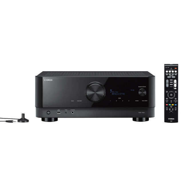 Yamaha TSR-700 7.1-Channel AV Receiver With 8K HDMI And MusicCast - Black - $471.98