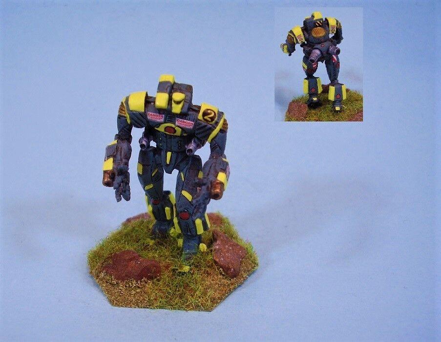 Battletech Pintado Miniatura Campa battlemech YG