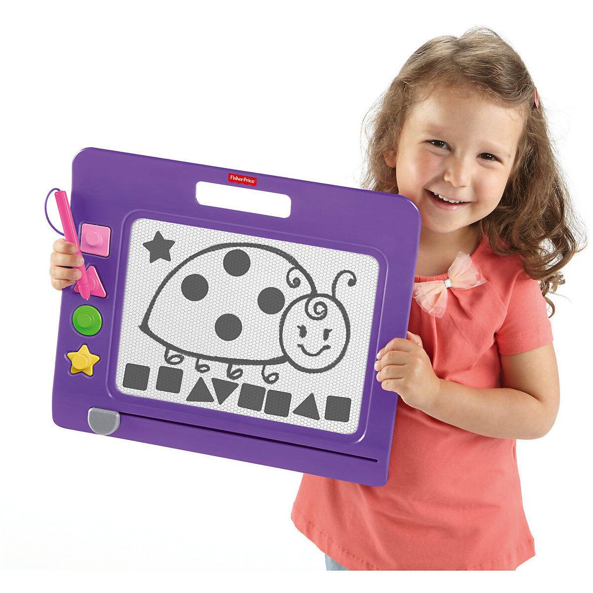 Ab Ab Ab 3 Jahre Kinder Maltafel Magnetische Zaubertafel mit 4 Stempel Magnet Tafel 670afd