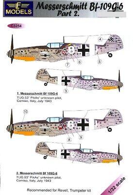 LF Models Decals 1//48 MESSERSCHMITT Bf-109G-6 COMISO CARTOON Part 1