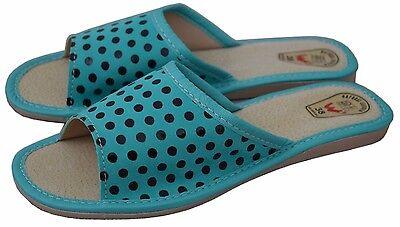 Zapatillas de cuero para mujer flip flop