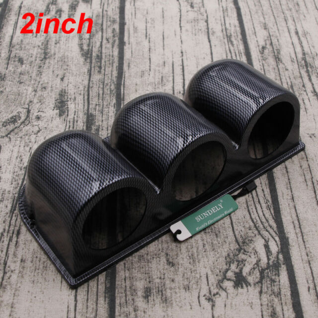 52mm 2/'/' Universal Car Duty Gauge Meter Dash Mount Pod Holder Cup Bracket~ZP