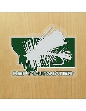 Repyourwater Pêche à la mouche-Montana Dry Fly Sticker