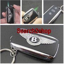 Bentley Car Key Refillable Butane Gas Cigarette Flame Lighter STUK