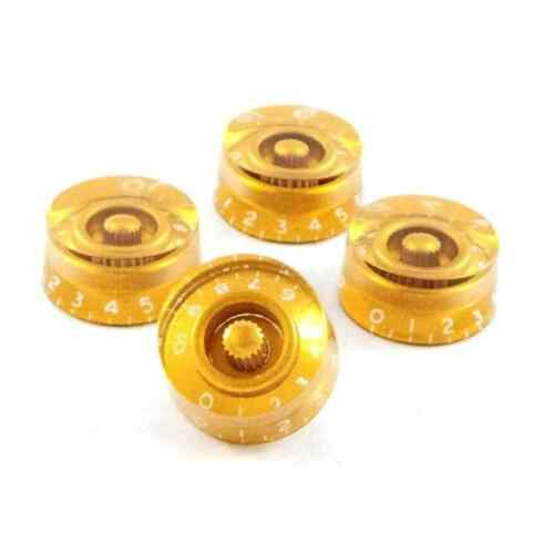 Metric KG-110 Hosco Gibson Style Speed Knob Gold Set of 4