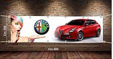 Striscione mt 4x1 Banner Pubblicitario PVC hd 550 gr/mq